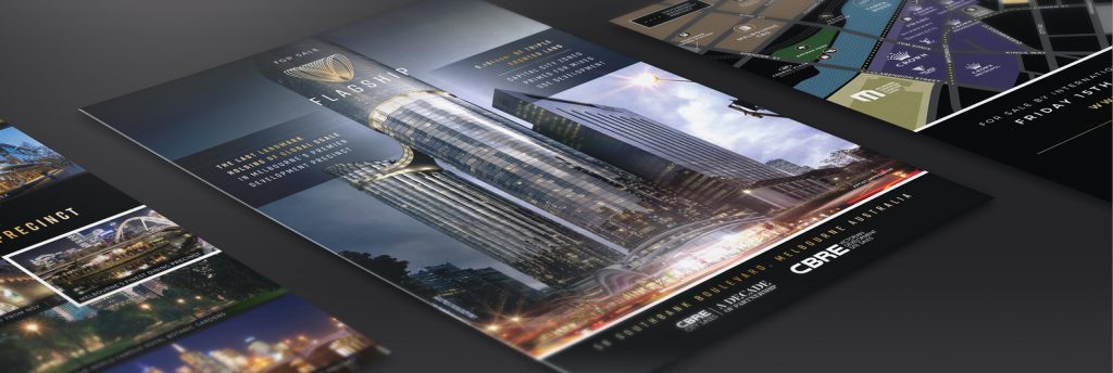 Marketing strategy and branding design for commercial development Melbourne Australia