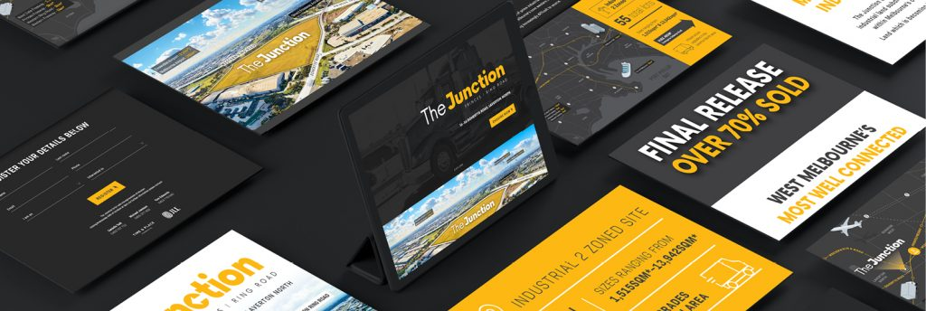The Junction marketing strategy photography design industrial property